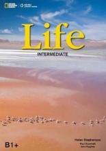 Dummett, Paul,   Hughes, John,   Stephenson, Helen Life - First Edition B1.2/B2.1: Intermediate - Student`s Book + DVD