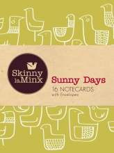 Laminx, Skinny Sunny Days Notecard Set, Skinny Laminx