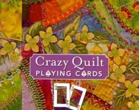 Aller, Allie Crazy Quilt Playing Cards Display