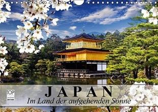 Stanzer, Elisabeth Japan. Im Land der aufgehenden Sonne (Wandkalender 2017 DIN A4 quer)