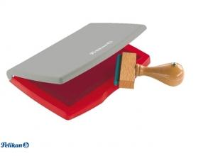 , Stempelkussen pelikan 2e 110x70mm rood