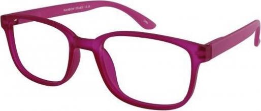 , Leesbril X +3.00 Regenboog Roze