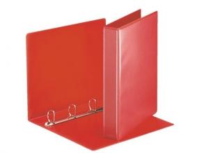 , Presentatieringband Esselte A4 4-rings D-mech 25mm rood