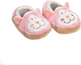 , Baby slippers cat