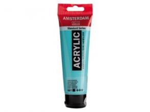 , Talens amsterdam acrylverf tube 120 ml turkooisgroen 661
