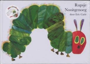 Eric  Carle Rupsje Nooigenoeg prentenboek en kleurboek
