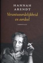 Hannah Arendt , Verantwoordelijkheid en oordeel
