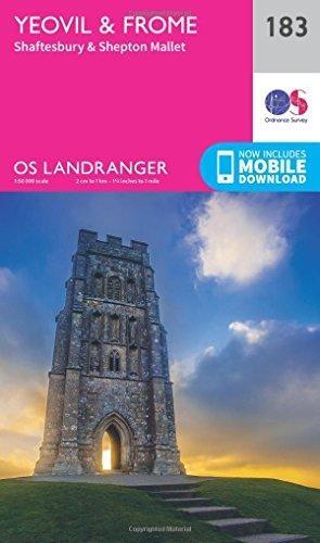 Ordnance Survey,Yeovil & Frome