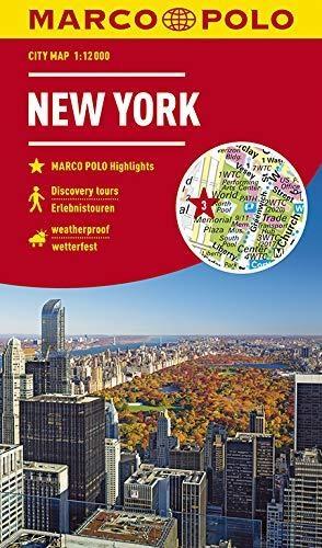 ,MARCO POLO Cityplan New York 1:12 000