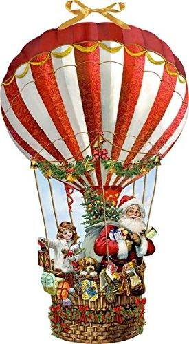 ,Wandkalender - Weihnachtsballon