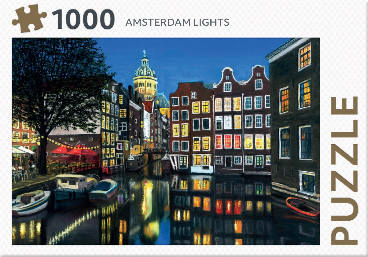 ,Amsterdam lights - puzzel 1000 stukjes