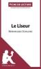 Kuta, Mélanie, Le Liseur de Bernhard Schlink (Fiche de lecture)