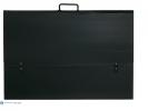 ,<b>Tekenmap Exacompta A2 50x65cm PP zwart</b>