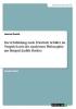 Daniel, Jessica, Die Ich-Bildung nach Friedrich Schiller im Vergleich mit der modernen Philosophie am Beispiel Judith Butlers