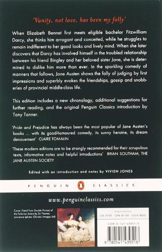 Jane,Austen,Penguin Classics Pride and Prejudice