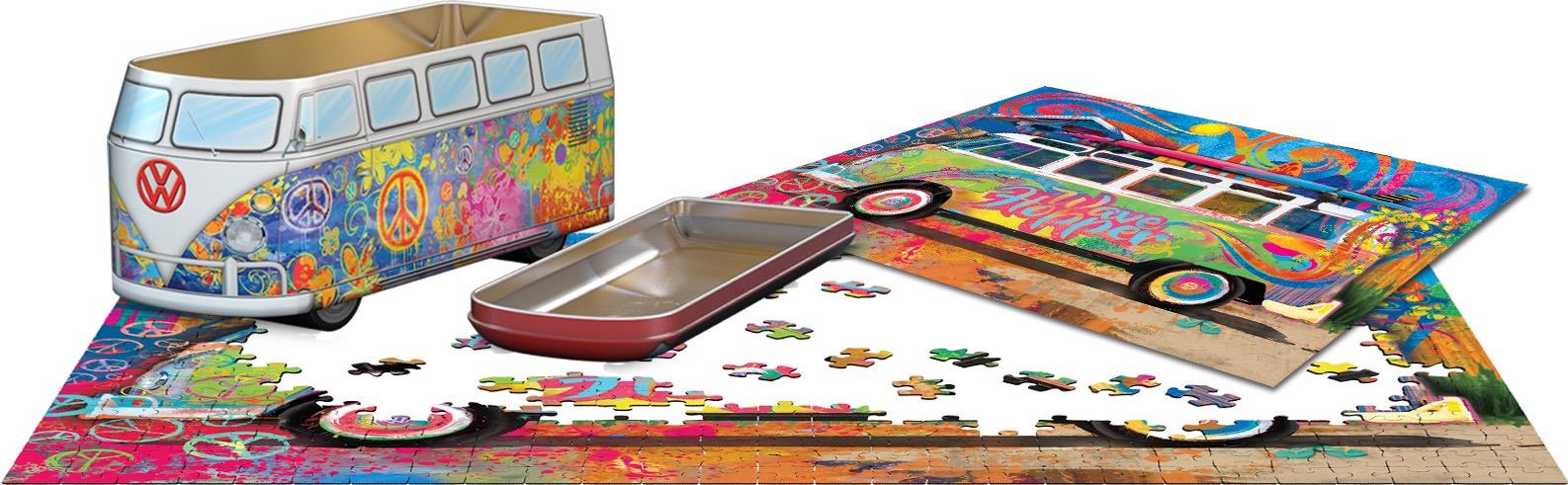 Eur-8551-5561,Puzzel puzzel in blik - vw wave hopper - 550 stuks