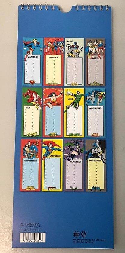 438713x,Verjaardagkalender super heroes