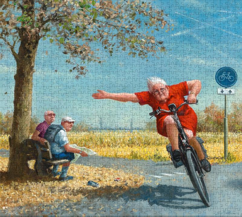,Marius van Dokkum - Turbo Puzzel 1000 stukjes