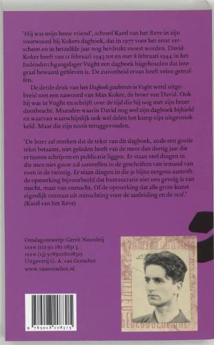 D. Koker,Dagboek geschreven in Vught