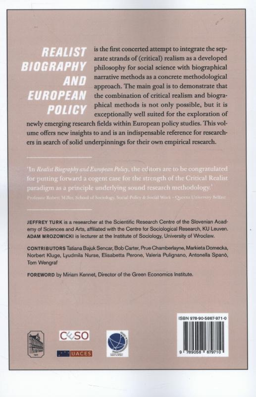 ,Realist biography and European policy