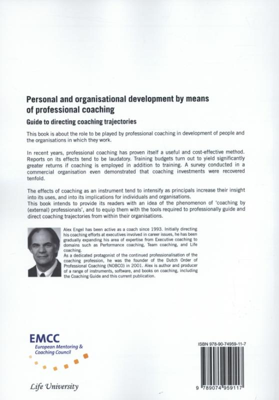 Alex J. Engel,Personal and organisational development by means of professional coaching