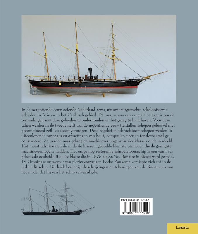 Foeke Roukema,In detail: Schroefstoomschip 4e klasse Bonaire