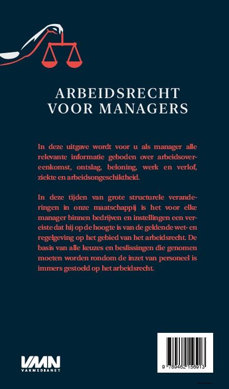 ,Arbeidsrecht voor managers