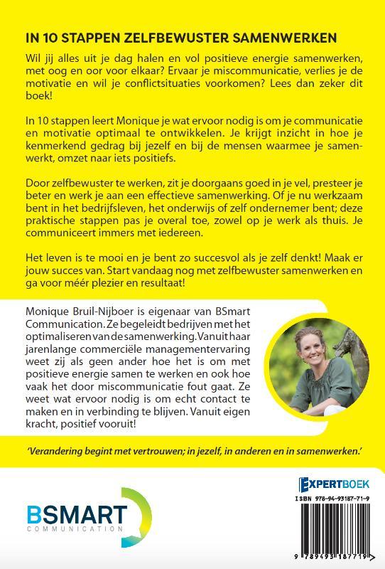 Monique Bruil-Nijboer,In 10 stappen zelfbewuster samenwerken