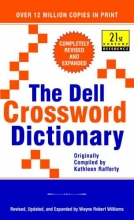 Ed Wayne Williams The Dell Crossword Dictionary
