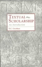 Greetham, D. C. Textual Scholarship