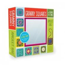 Hubert, Margaret Granny Squares, One Square at a Time Amulet Bag Kit