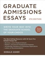Asher, Donald Graduate Admissions Essays