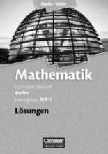 Bigalke, Anton,   Kuschnerow, Horst,   Köhler, Norbert,   Ledworuski, Gabriele Leistungskurs MA-1 - Qualifikationsphase - Lösungen zum Schülerbuch