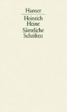 Heine, Heinrich Ludwig Brne Cervantes, Don Quixote Shakespeare, Mdchen und Frauen