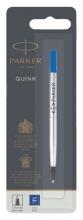 , Rollerpenvulling Parker blauw fijn 0.5mm op blister