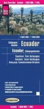 , Reise Know-How Landkarte Ecuador, Galápagos (1:650.000 1.000.000)