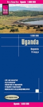 , Reise Know-How Landkarte Uganda (1:600.000)