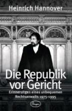 Hannover, Heinrich Die Republik vor Gericht 1975-1995