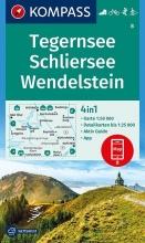 , Tegernsee, Schliersee, Wendelstein 1:50 000