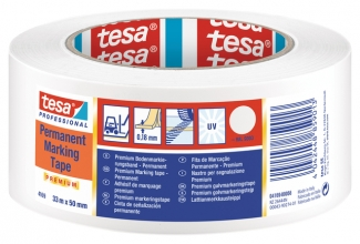 , Vloermarkeringstape Tesa 04169 50mmx30m wit