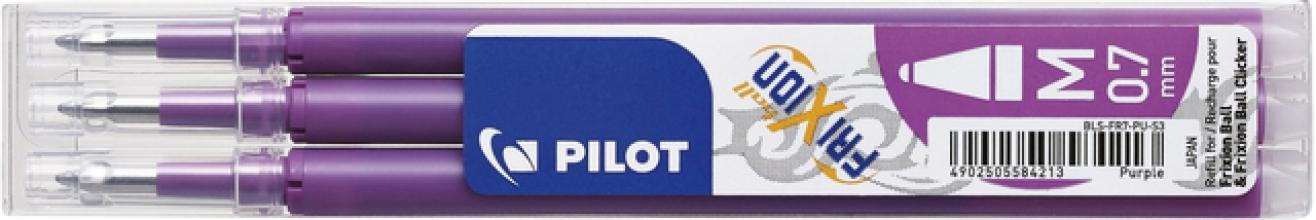 , Rollerpenvulling Pilot Frixion BLS-FR7 0.35mm paars