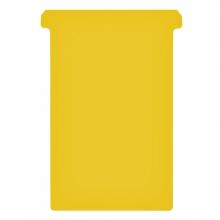 , Planbord T-kaart Jalema formaat 4 107mm geel