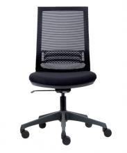 , Bureaustoel Euroseats Canillo netgespannen rug zwart