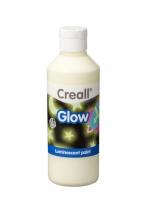 , Plakkaatverf Creall glow in the dark groen 250 ml