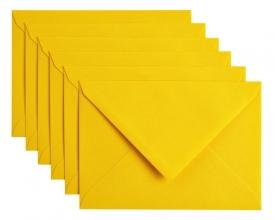 , Envelop Papicolor C6 114x162mm dottergeel