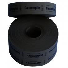 , Consumptiebon Combicraft 57x30mm 2-zijdig 2x1000 stuks geel