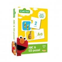 , Sesamstraat ABC- en 123 puzzel