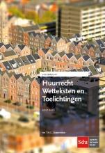 T.H.G.  Steenmetser Huurrecht Wetteksten en Toelichtingen 2017-2018