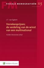 J.T. van Egdom , Verrekenprijzen; de verdeling van de winst van een multinational