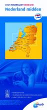 ANWB , Nederland midden 1:200000
